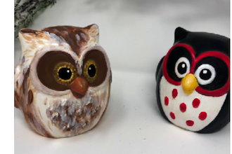 ​Paint Nite Innovation Labs: Ceramic Owl