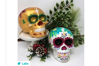 Paint Nite Innovation Labs: Ceramic Skulls II