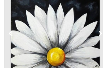 Paint Nite: Chalkboard Daisy (Ages 18+)