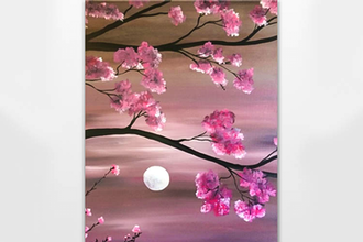 Cherry Blossom Moonlight II