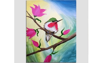 Paint Nite: Chubby Hummer