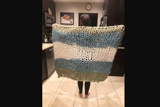 Virtual Chunky Blanket Making with Tammy Tavarone