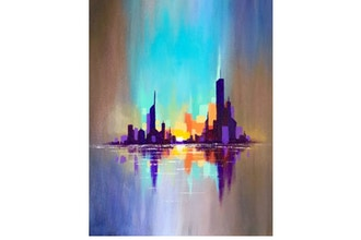 Paint Nite: City Reflections