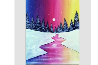 Paint Nite: Colorful Winter