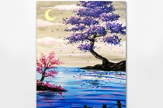 All Ages Paint Nite: Crescent Lakeside View