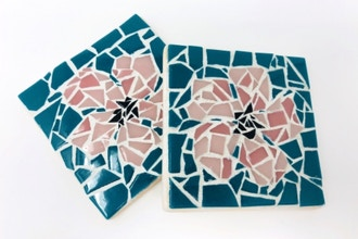 Make a Mosaic: Custom Mosaic Coasters V