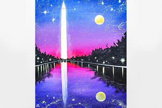 Paint Nite: DC, The Beautiful