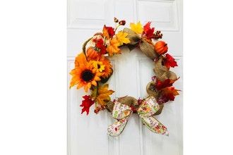 Plant Nite: DIY Fall Harvest Wreath
