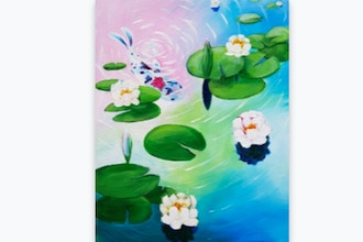 Paint Nite: Don't be Koi with Me