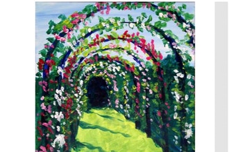 Virtual Paint Nite: Elizabeth Park Rose Garden (6+)