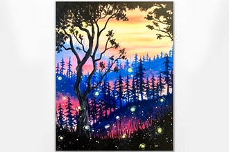 Paint Nite: Enchanted Fairy Forest