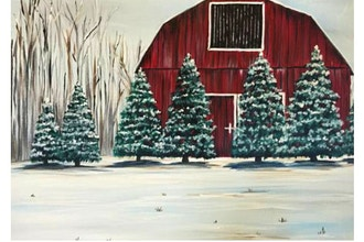 Paint Nite: Evergreen Farm