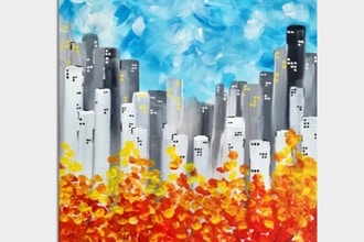Paint Nite: Fall In The City III (Ages 18+)
