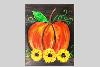 Paint Nite: Fall Pumpkin & Sunflowers