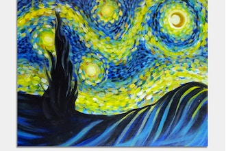 Paint Nite: Fanciful Starry Night