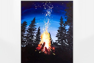 Paint Nite: Flickering Flames