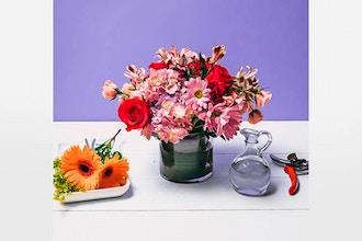 Flower Workshop Seasonal Centerpieces Floral Design Arrangement