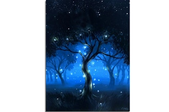 Paint Nite: Forest of Light II