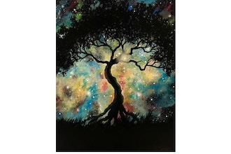 Paint Nite: Galaxy Knowledge Tree