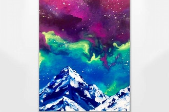 Paint Nite: Galaxy Mountain