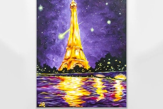 Paint Nite: Glowing Paris