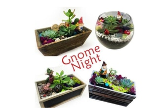 Plant Nite: Gnome Night-Pick Your Planter & Your Gnome
