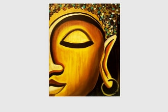 Paint Nite: Golden Buddha
