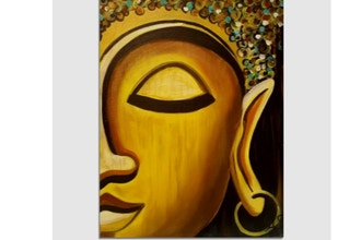 Virtual Paint Nite: Golden Buddha
