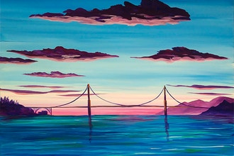 Paint Nite: Golden Gate Magic
