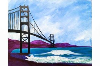 Paint Nite: Golden Gate Waves