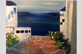 Paint Nite: Greek Dreams (Ages 13+)