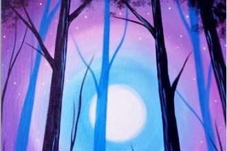 All Ages Paint Nite: Happy Moonlight