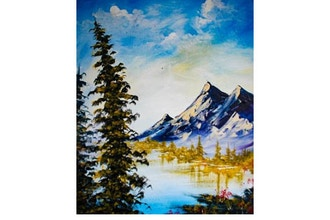 Paint Nite: Happy Mountain