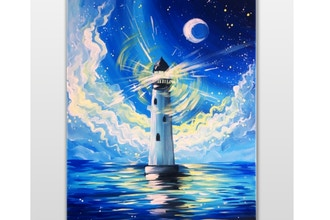 Paint Nite: Hope is like a lighthouse (Ages 18+)