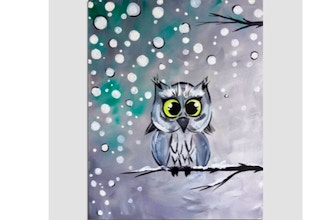 Virtual Paint Nite: I Am Not A Snowball (Ages 6+)