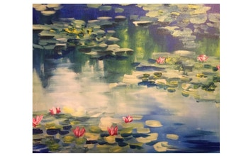 Paint Nite: Impressionist Monet Water Lilies