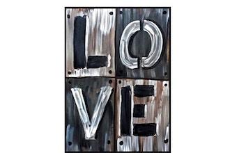 Paint Nite: L.O.V.E.