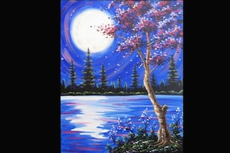 All Ages Paint Nite: Lake Solace