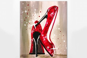 Let's Dance in Red Sparkling Shoes