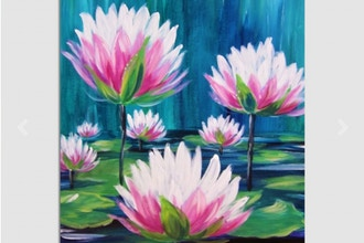 Paint Nite: Lilly's Blooms