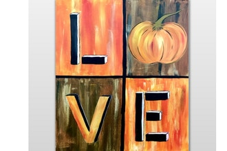 Paint Nite: Love Fall (Ages 6+)