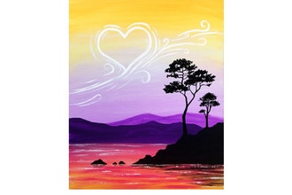 Paint Nite: Love In The Air II