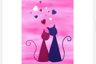 All Ages Paint Nite: Love Kitties