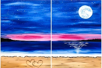 Love by the Sea Partner Painting