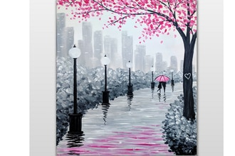 Paint Nite: Lover's Stroll
