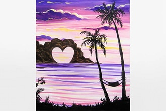 Paint Nite: Lovers Getaway
