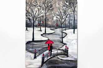 Paint Nite: Loving You through the (Snow) Storm