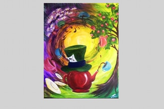 Virtual Paint Nite: Mad For Tea (Ages 18+)