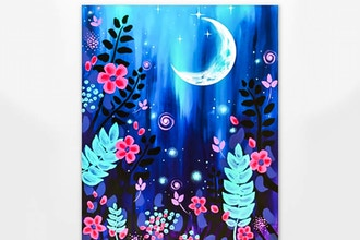 Paint Nite: Magic Garden