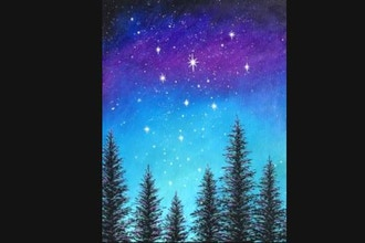 Virtual Paint Nite: Magical Midnight (Ages 13+)